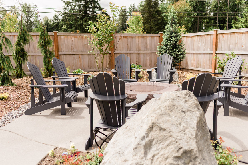 Outdoor Reception Area - Firepit