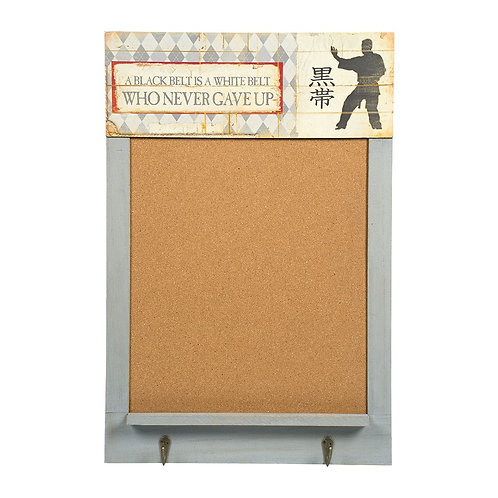 Martial Arts Cork Board