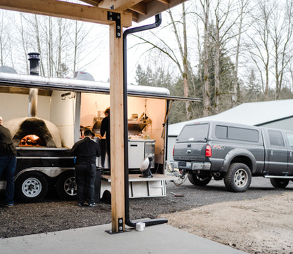 Space for food truck/caterer