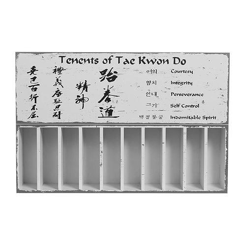 Taekwondo Belt Display