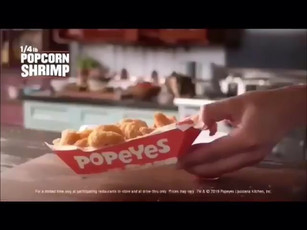Popeyes Commercial 2019