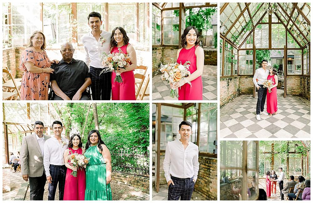 Wedding Venue | Texas Wedding Venue | Outdoor Venue | Austin Wedding Venue | San Antonio Wedding Planner | Texas Wedding Planner | Intimate Ceremony | Garden Wedding | Minimony | Greenhouse Wedding | Spring Wedding