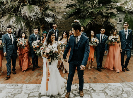 Ronald & Mary Jane | Traditional Chinese Tea Ceremony Meets Modern Desert Vibes | San Antonio, TX