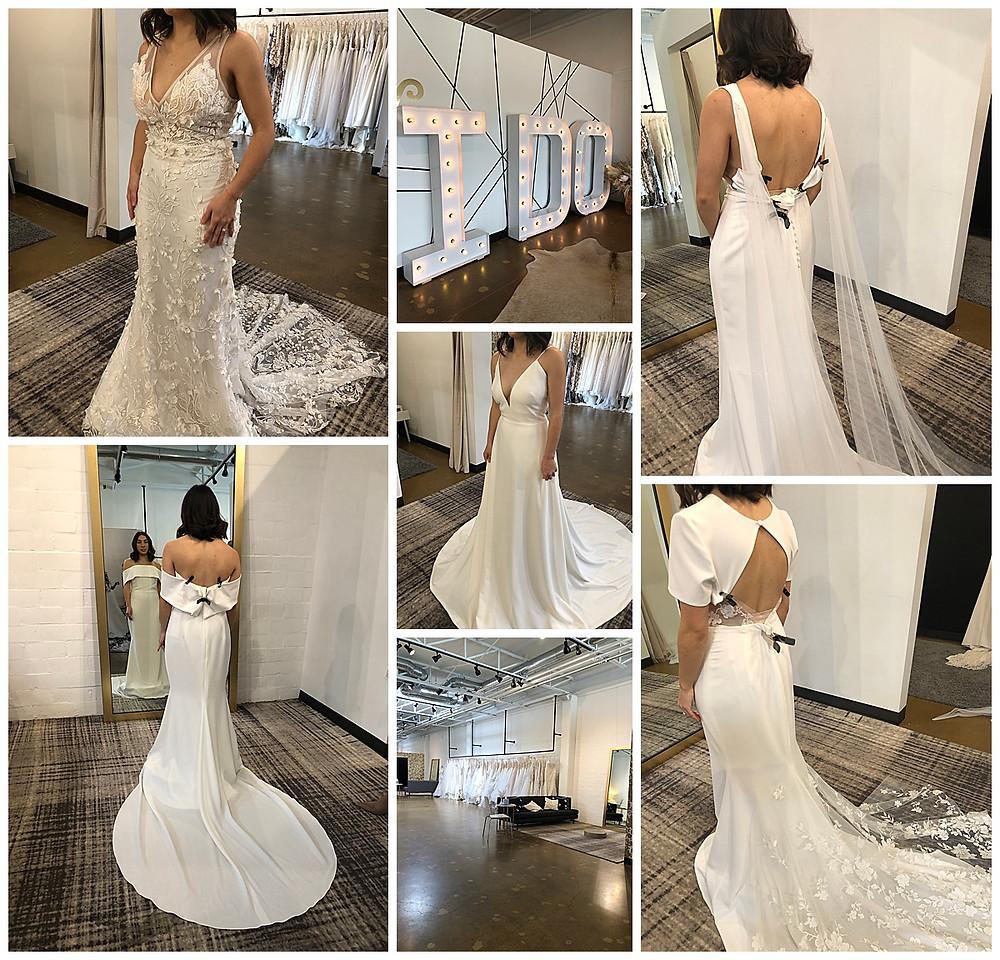 Wedding Dress | Modern Wedding Dress | Modern Bride | Wedding Details | Wedding Dress Inspiration | Texas Bride | Bride |  Wedding Inspiration | A&Bé | Wedding Gown