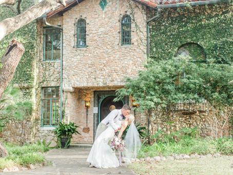 Brook + Luke | A Perfectly Purple Summer Wedding at The Veranda | San Antonio, TX