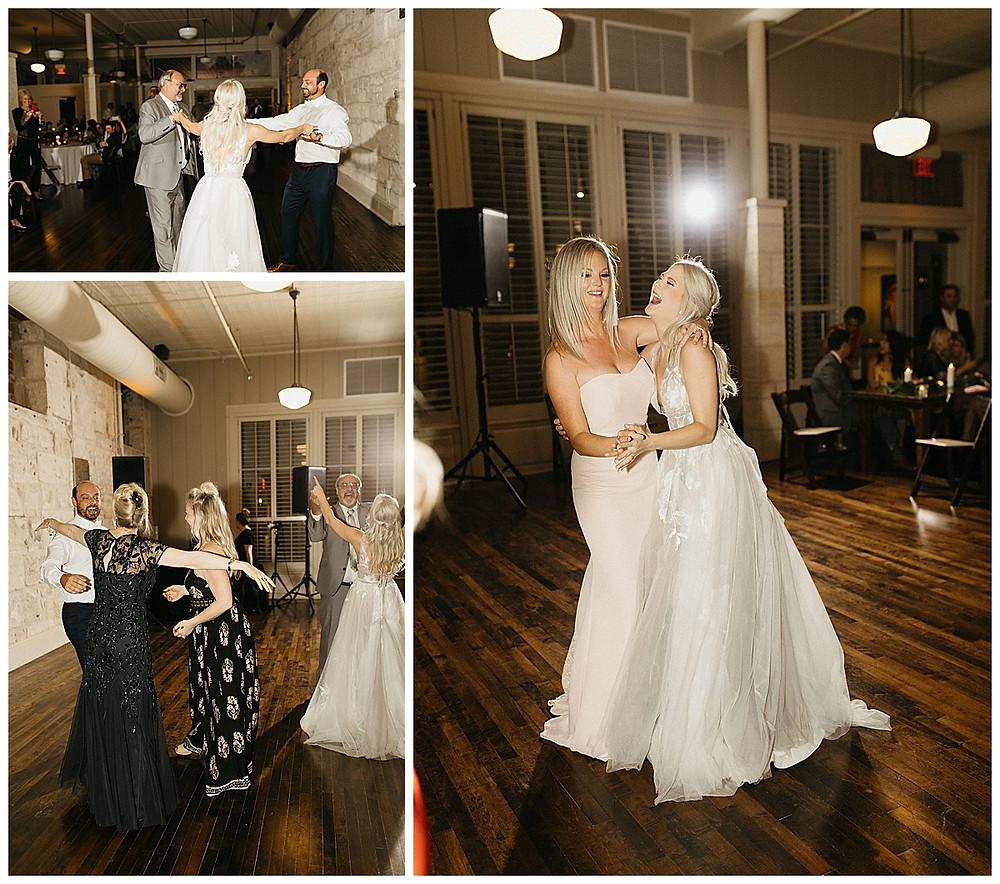 Hill Country Wedding. San Antonio Wedding Planner. Wedding Reception. Dancing. Bride and Groom. Hill Country Wedding Planner