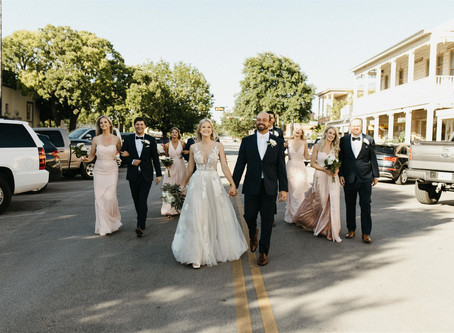 Brittany & Koley's Downtown Wedding at the Historic Schreiner Mansion | Kerrville, Texas