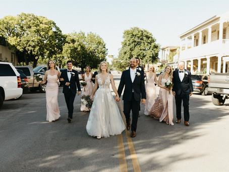 Brittany & Koley's Downtown Wedding at the Historic Schreiner Mansion | Kerrville, Texas