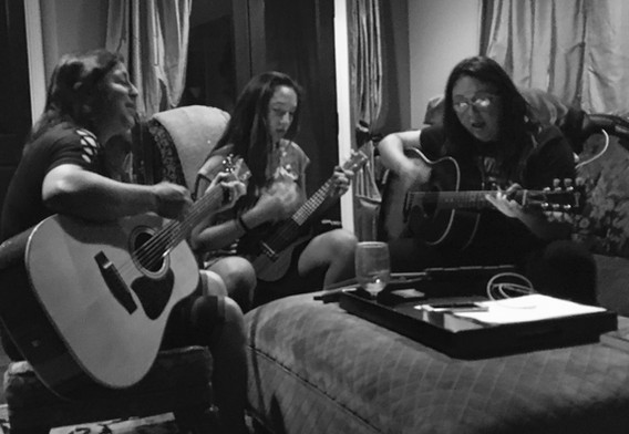 Jessie, Vivian and Monique, Torrence, CA