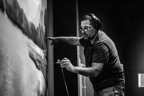 Peter Koury, Painter, Muralist, Design Artist