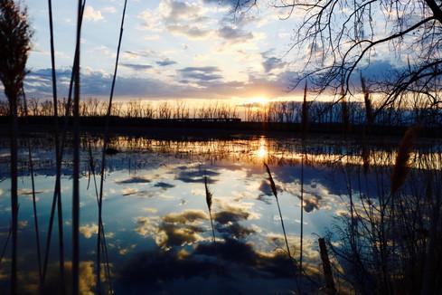 Sunset, Ken Euers Park
