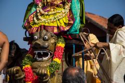 Chamundi Temple, Parade to celebrate the deities