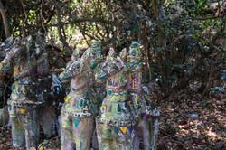 Hidden, roadside temple