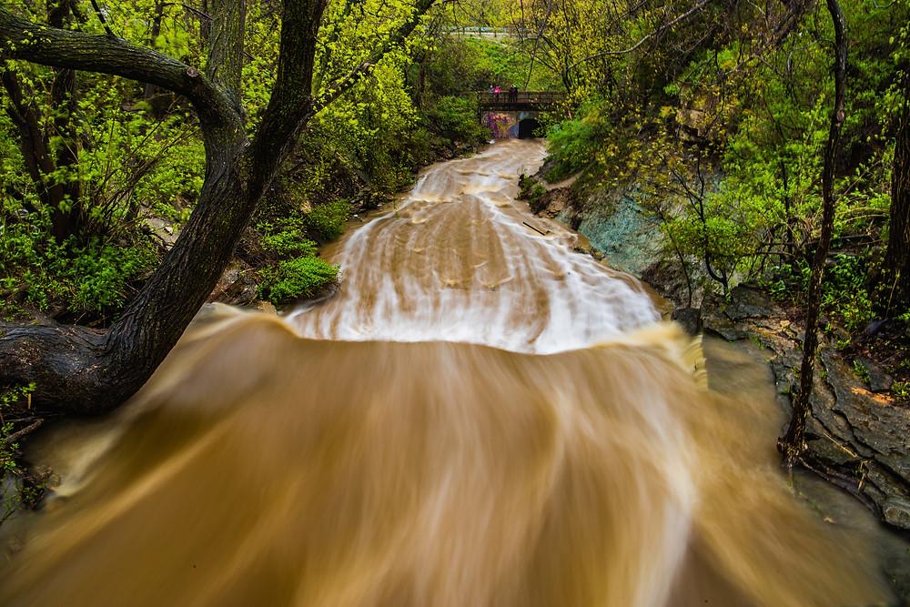 Wequiock Falls, Green Bay, Wisconsin, Door County Peninsula. Shot with Canon 6D Mark ii, Canon EF 24-105mm Lens