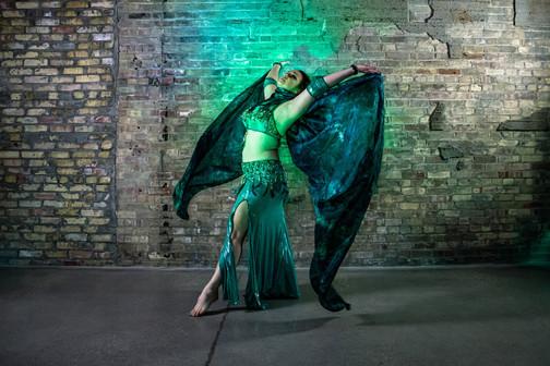 Navah Mirage, Belly Dancer