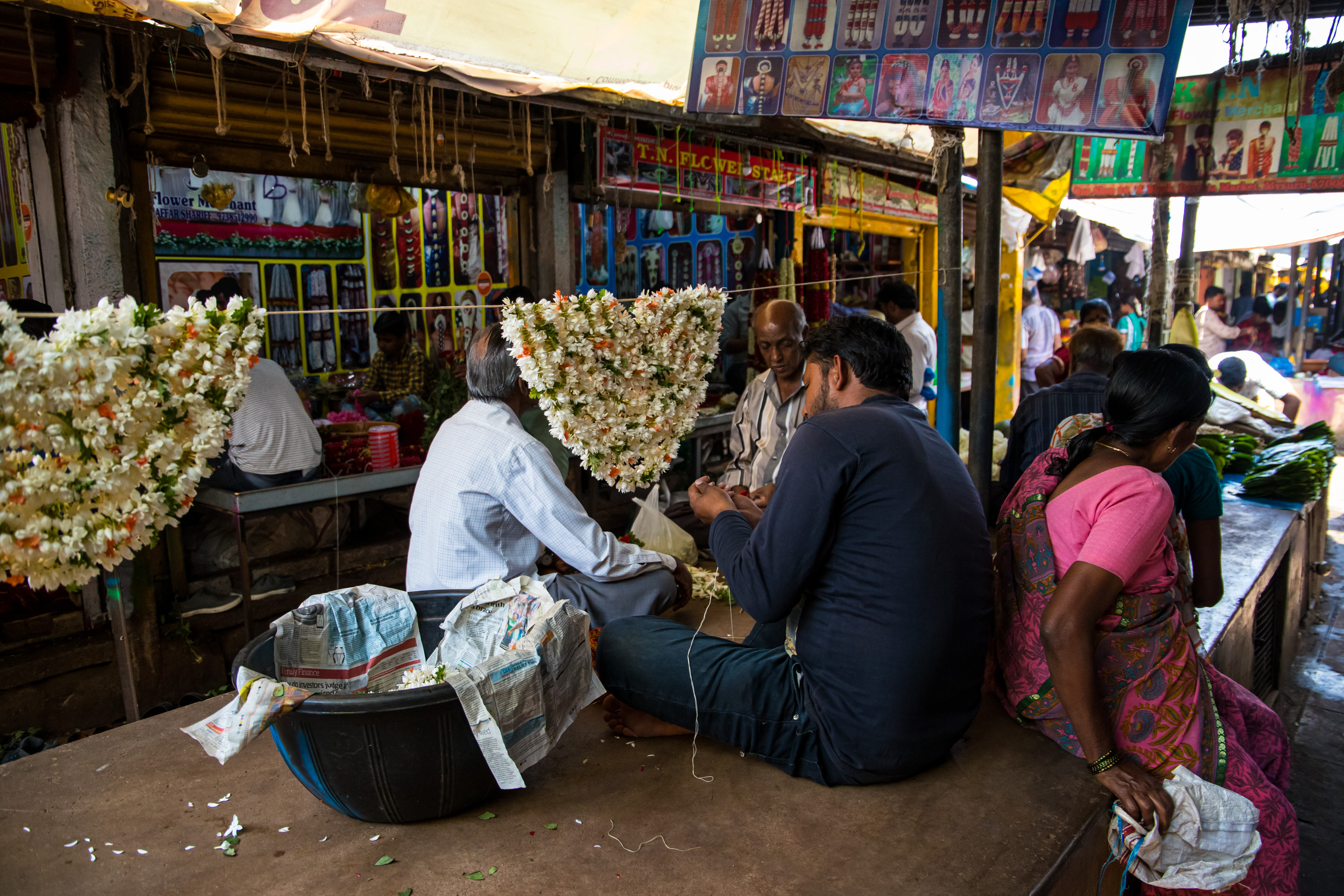 Open Air Market - Mysore