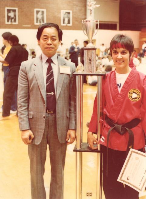 Grand Master Jhoon Rhee & Regina Gonzalez