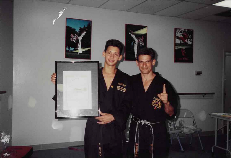 Daniel Otero & Master Angel Gonzalez