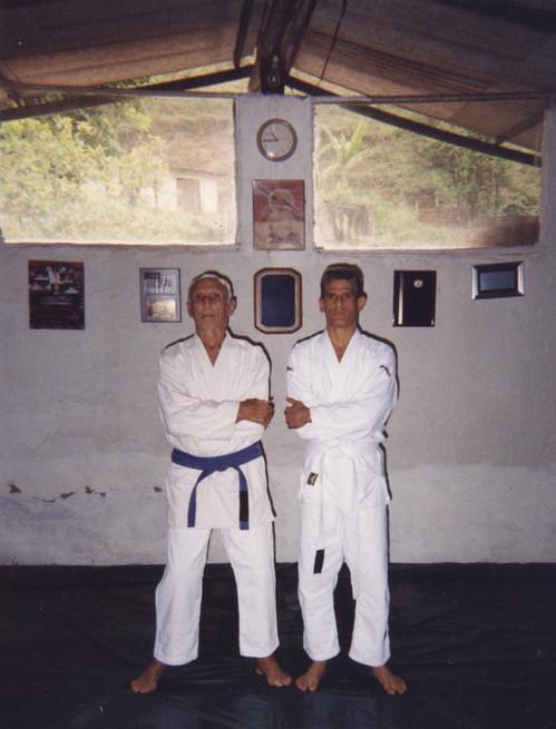 Grand Master Helio Gracie & Angel Gonzalez