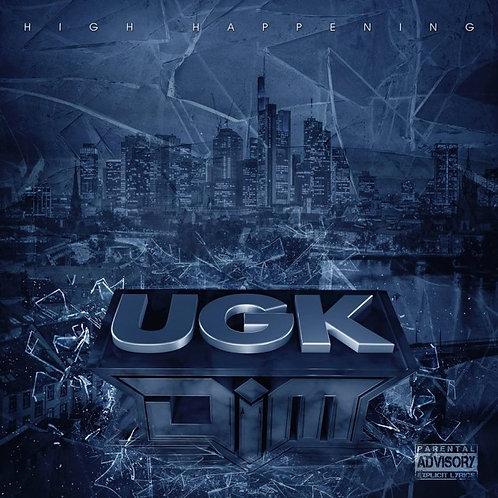 "Dim - ""UGK"" (CD) Ltd. Edition [Vinyl-Look]"