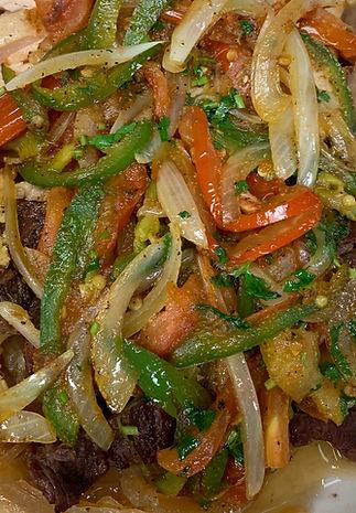 Fajita & Veggies Plate