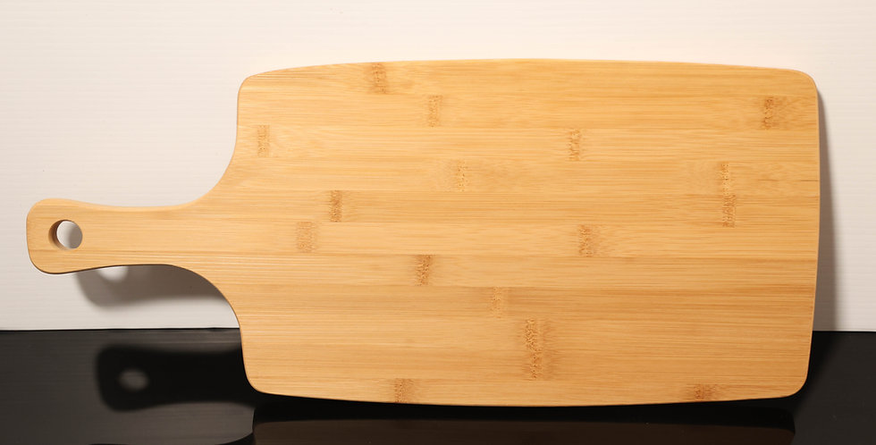 Custom Engraved Acent Bamboo Wood Paddle 52cm x 23cm