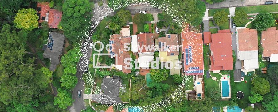 Residental Houses, 4K 30fps Stock Footage