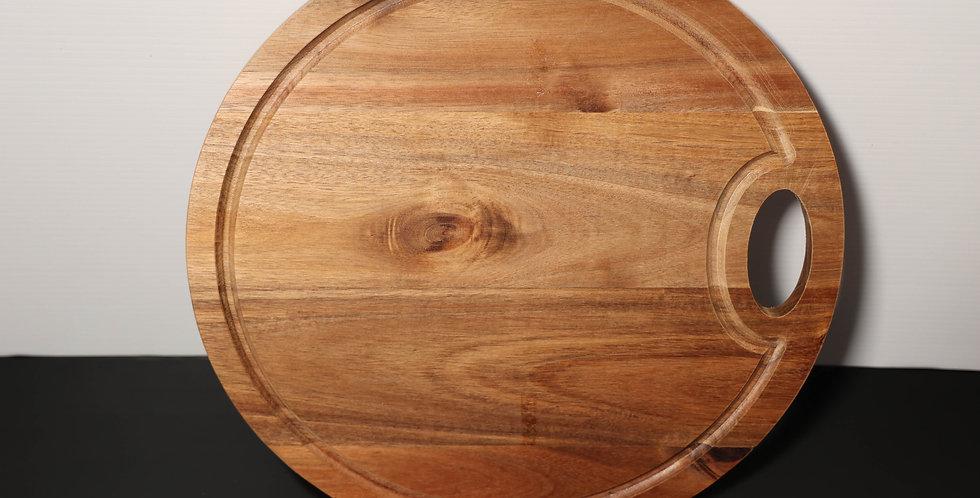 Custom Engraved Acacia Wood Board 38cm
