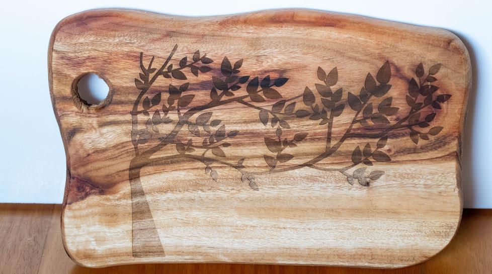Wood Engraved Board
