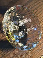Glass Lid Engraving