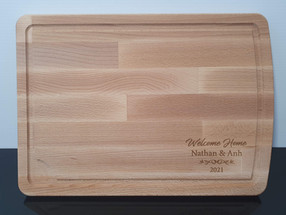 Wood Engraved Chopping Board