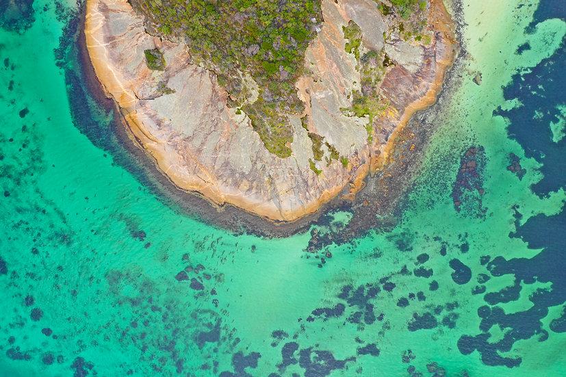 Reef, Albany WA 75 x 50cm