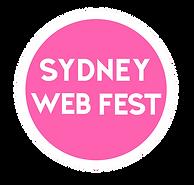 SYDNEY WEB FEST BADGE LOGO HIGH RES COLO