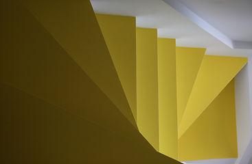 Escadas amarelas