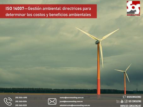 ISO 14007, Gestión ambiental - Directrices para determinar los costos y beneficios ambientales
