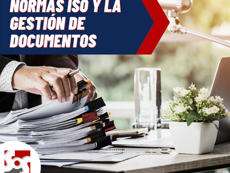 Normas ISO de Apoyo en la gestión de documentos