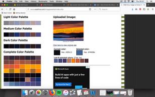 Colour Scheme For Costumes
