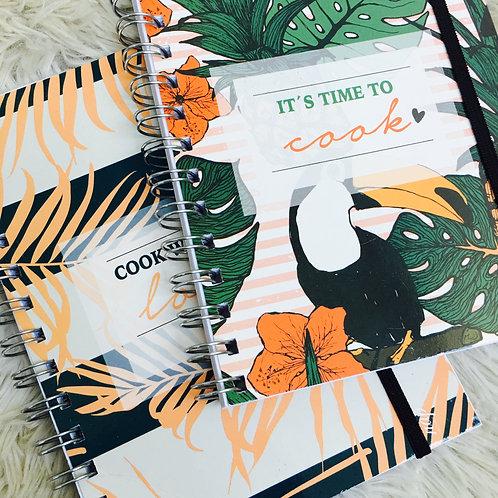 Cuaderno nap Linea RECETARIO con elástico