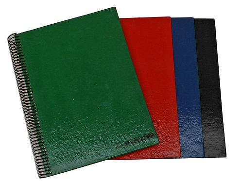Cuaderno 1/2 oficio Linea FORRADO COLOR