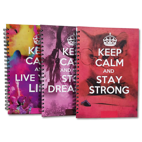 Cuaderno A4 Linea KEEP CALM