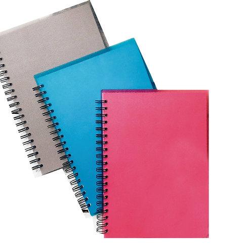 Cuaderno universitario Linea CRISTAL COLOR de hojas lisas