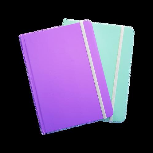 Libreta N°7 Bullet Journal Pastel engomada