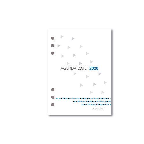 Repuesto de agenda N7 dia por página