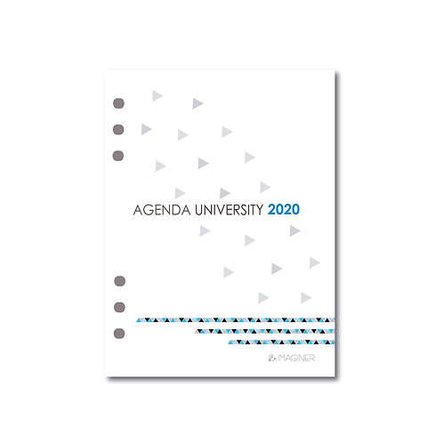 Repuesto de agenda N8 dia por página