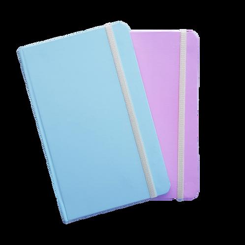 Libreta N°6 Engomada Pastel Bullet Journal