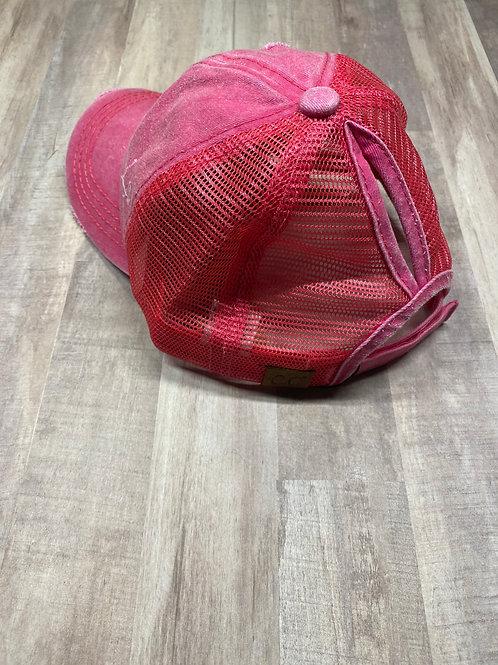C.C. Keyhole Hot Pink Hat