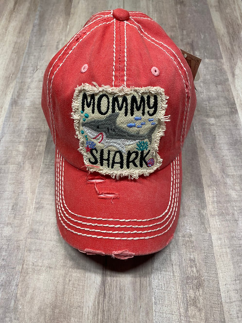 Mommy Shark Pink Hat