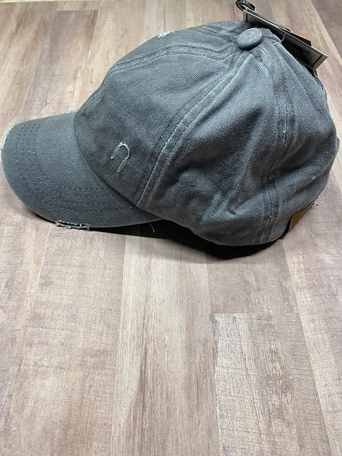C.C. Ladder Back Grey Hat