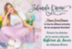 Johanna Rivero colección Historia de Amo