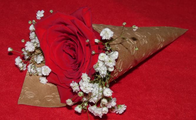 Souvenirs con flores naturales